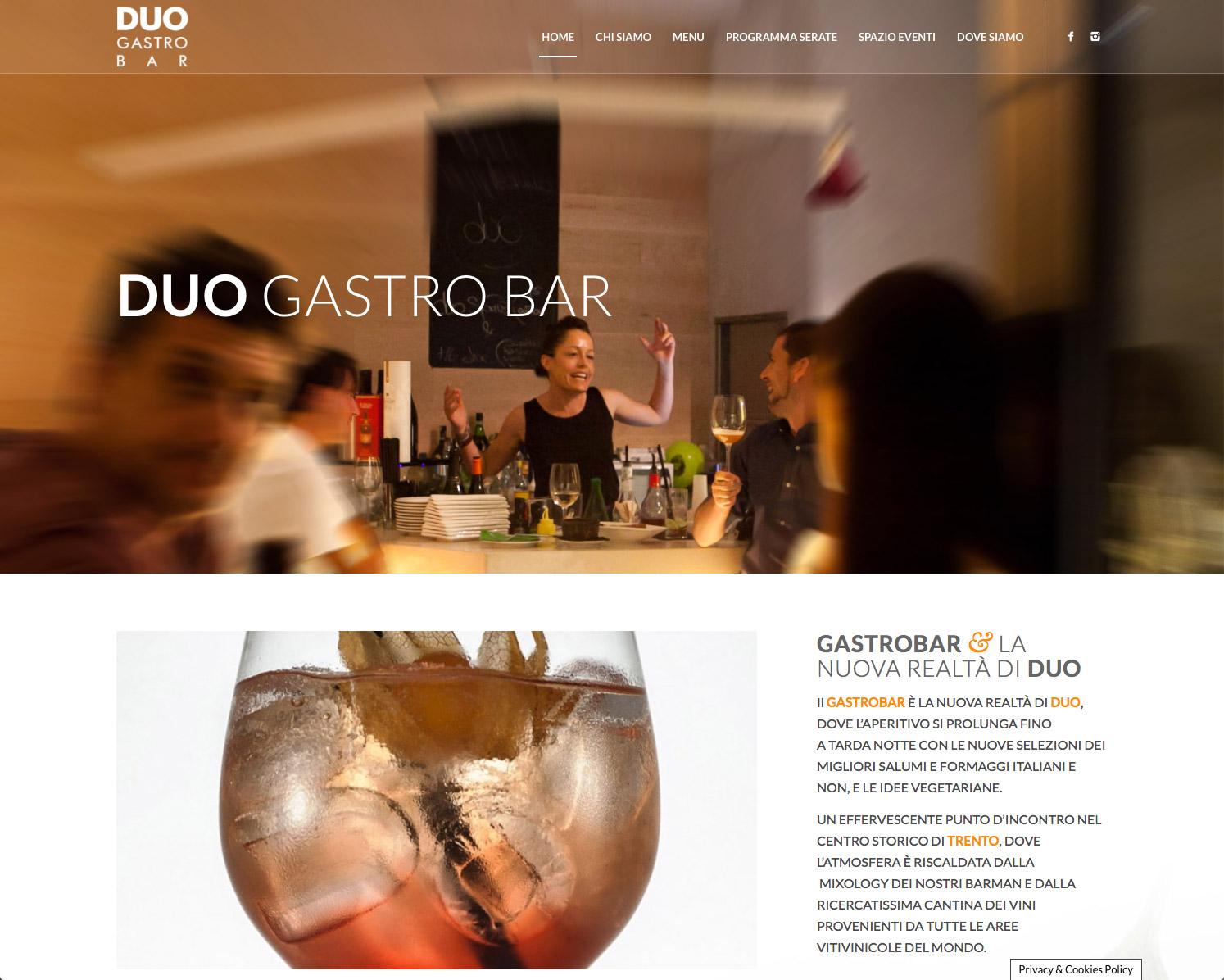 Duo Gastrobar a Trento