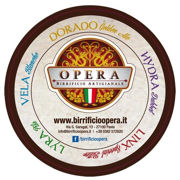 Birrificio Artigianale Opera Sottobicchiere