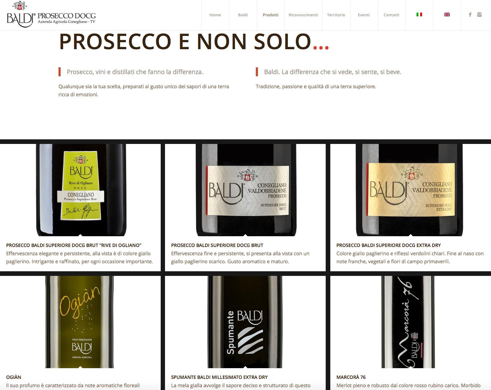 Baldi Azienda Agricola Brand Identity