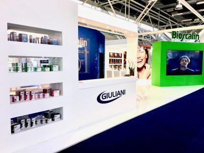 Stand Giuliani Pharma al Cosmoprof 2017