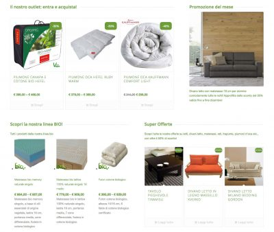 Web Design | eCommerce La Casa Econaturale