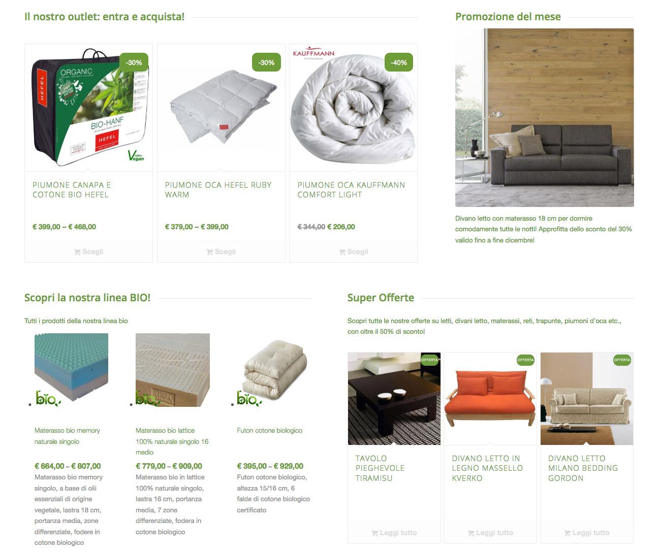 Web Design | eCommerce La Casa Econaturale