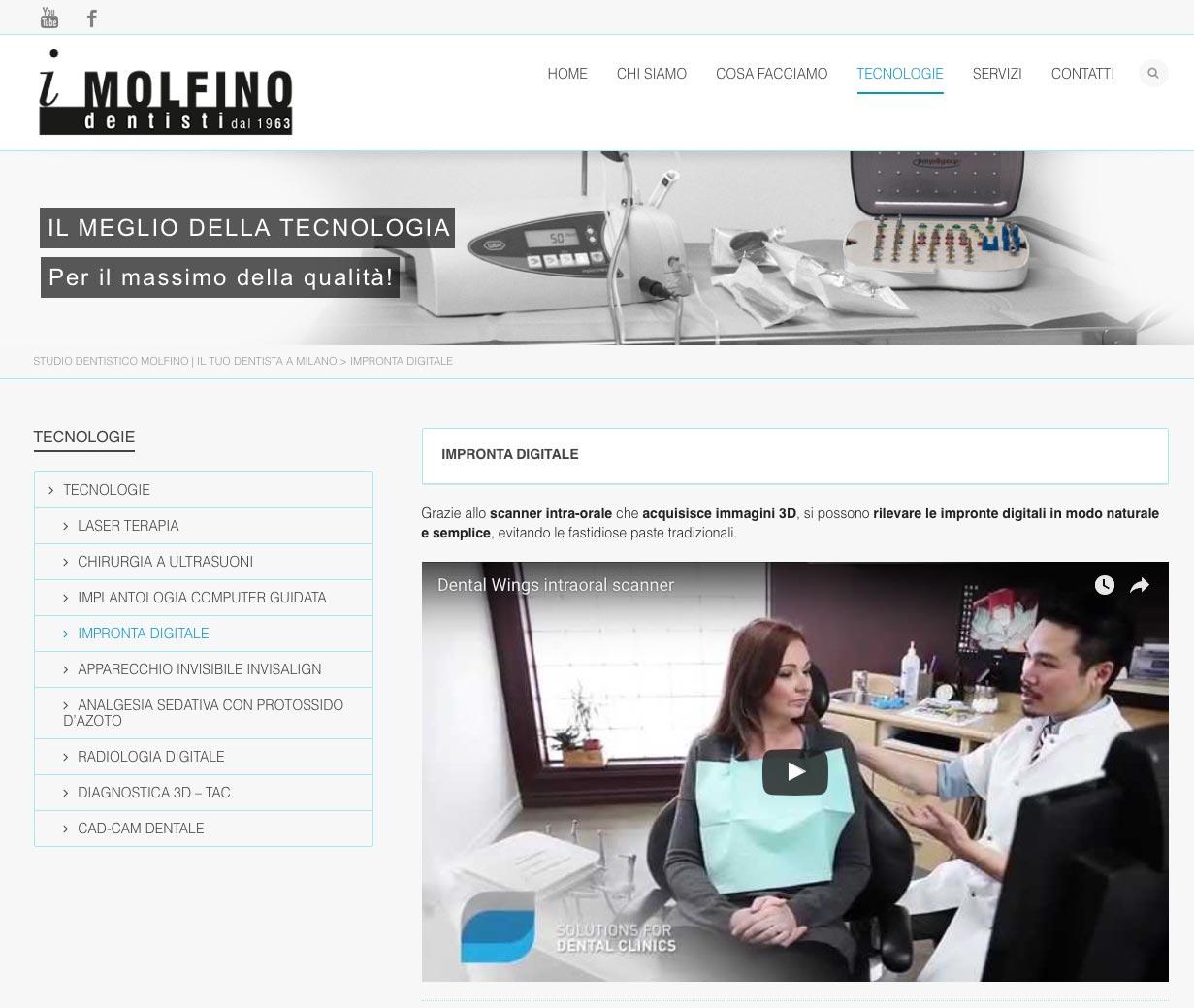 Studio Dentistico Molfino Video Intervista