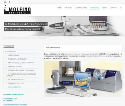 Studio Dentistico Molfino Web Design