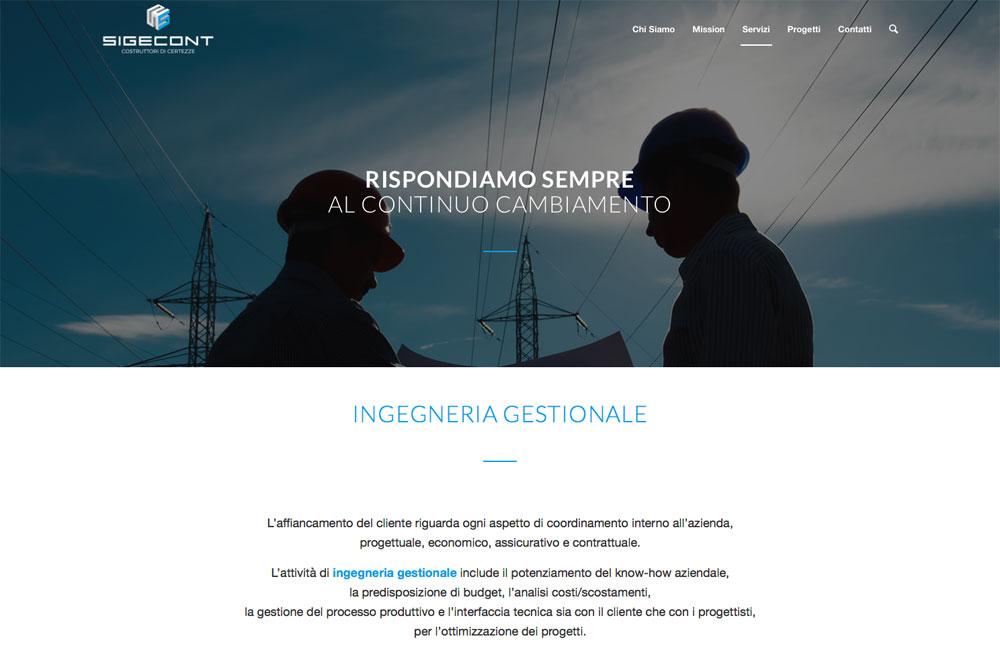 Web Design Sigecont
