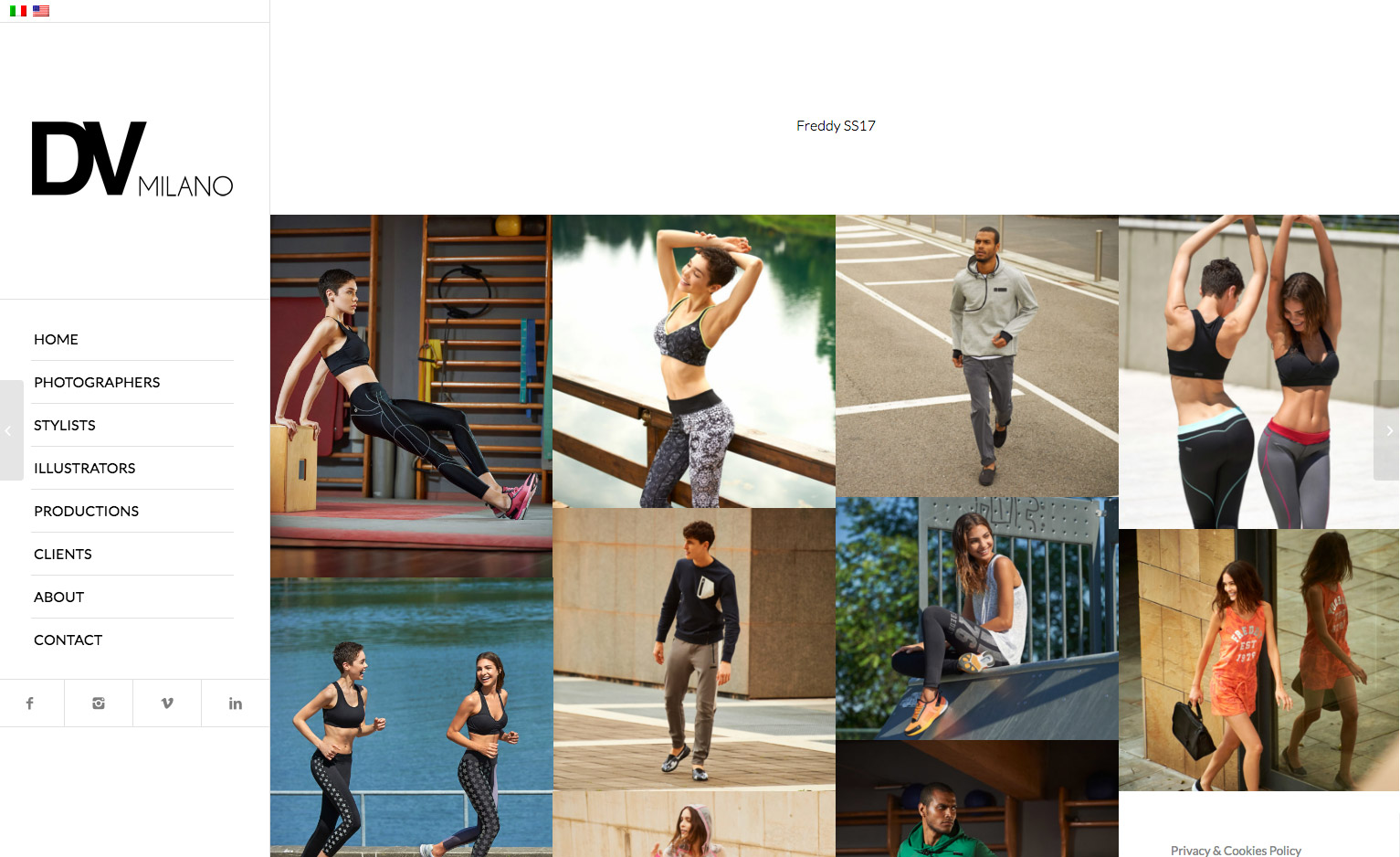 Web design e SEO per Dv Milano