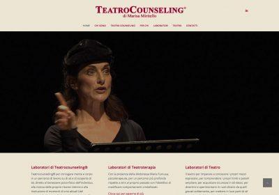 Web Design Teatrocounseling di Marisa Miritello