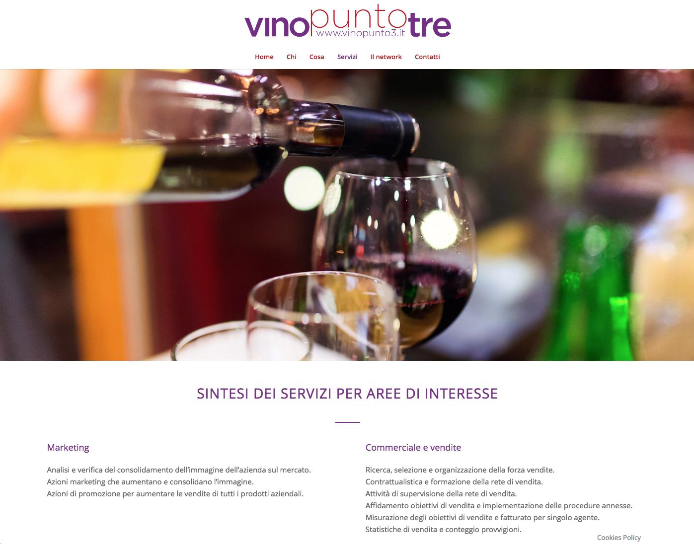 Vino Punto3 | Web Design