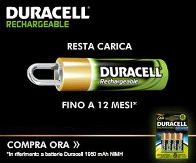 Campagna Duracell evidenza