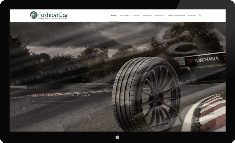Fashion Car Web Design