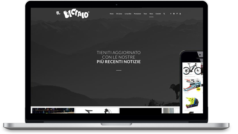 Il Biciaio Web Design