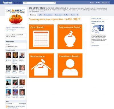 Ing Direct App Facebook